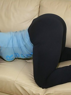 Massive Dark Ebon Ass in Yogapants !