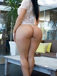 Marvelous beauties with juicy booties